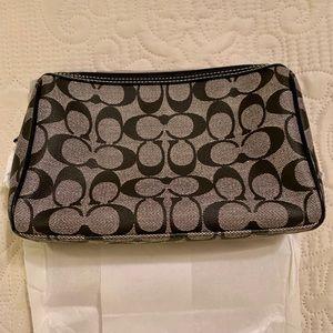 Coach Signature Medium Cosmetic Bag